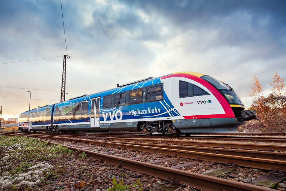 Die neuen Fahrpreise werden auch für die Bahnen - hier die Müglitztalbahn - gelten.