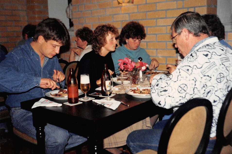 Ohne Tischreservierung war in Zichis Pizzeria nichts zu machen. Der Ansturm war riesig.