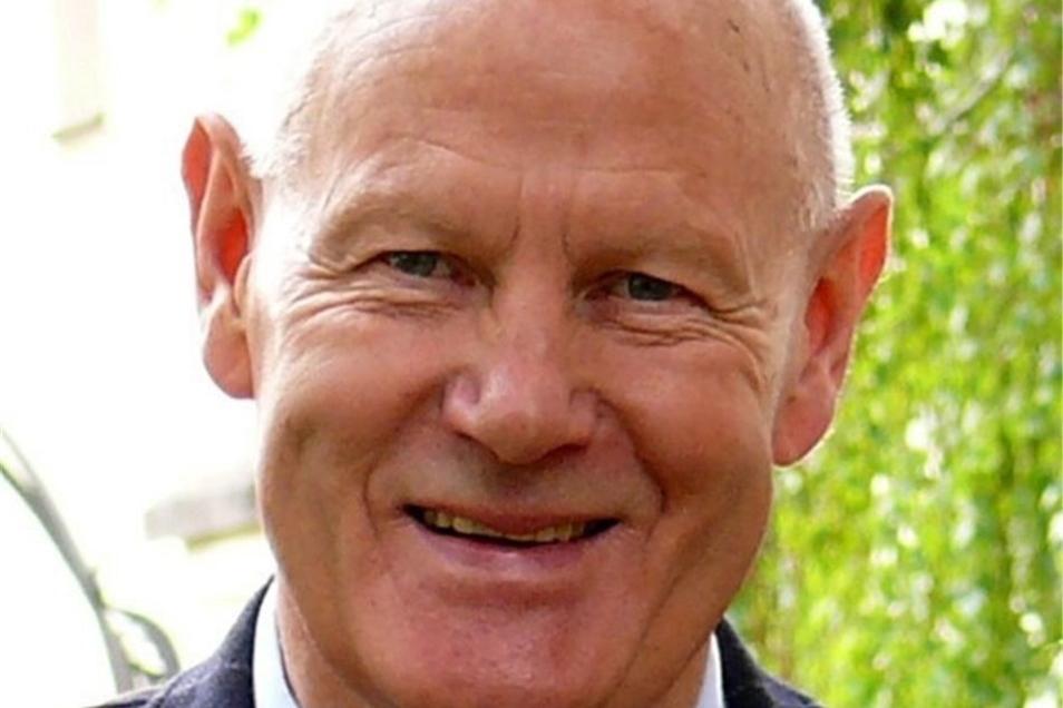 Dietrich Thiele ist Stadtrat der Freien Unabhängigen Wähler und Vorsitzender des Sportbeirats der Stadt Zittau.