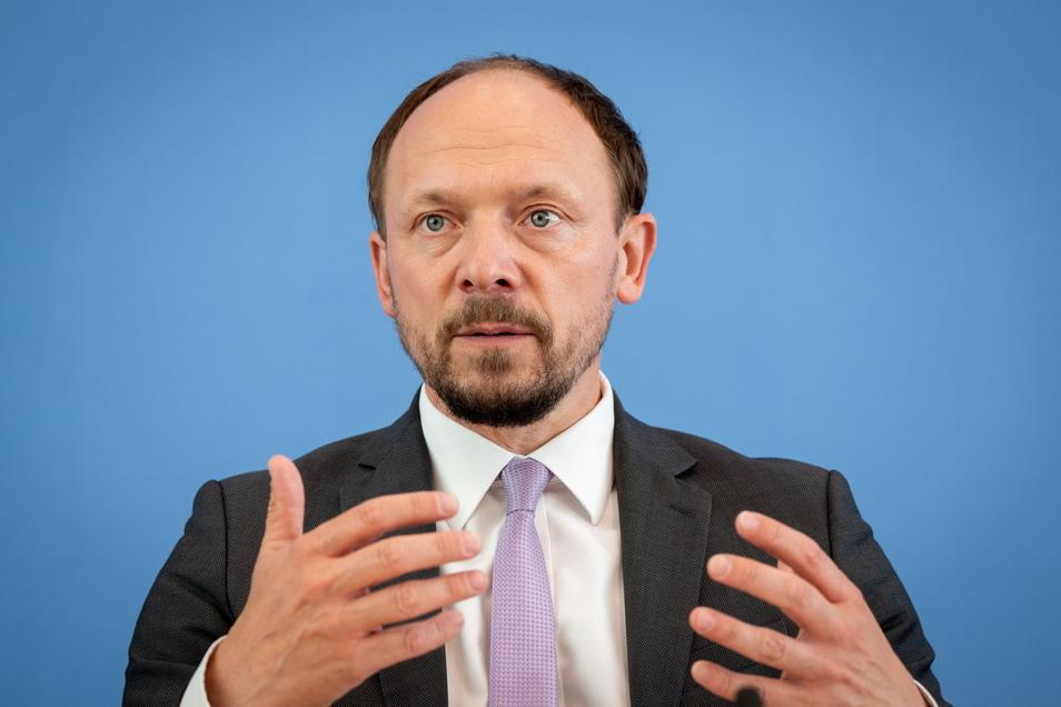Marco Wanderwitz stellte am Mittwoch den Jahresbericht zum Stand der deutschen Einheit vor.