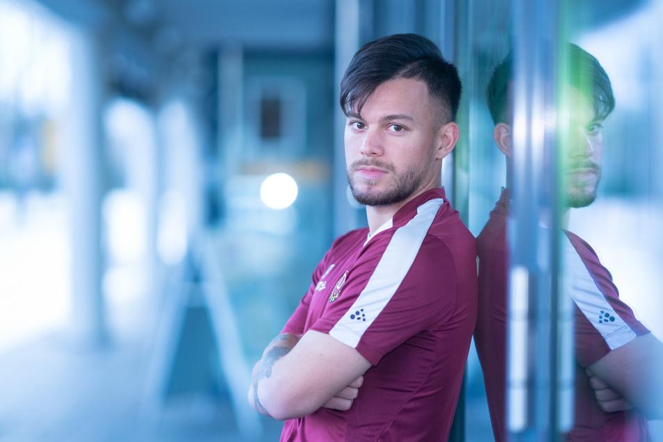 Sascha Horvath kam im Sommer 2017 von Sturm Graz zu Dynamo nach Dresden, Jetzt ist auch der Österreicher in häuslicher Quarantäne - und hat sich dazu geäußert.