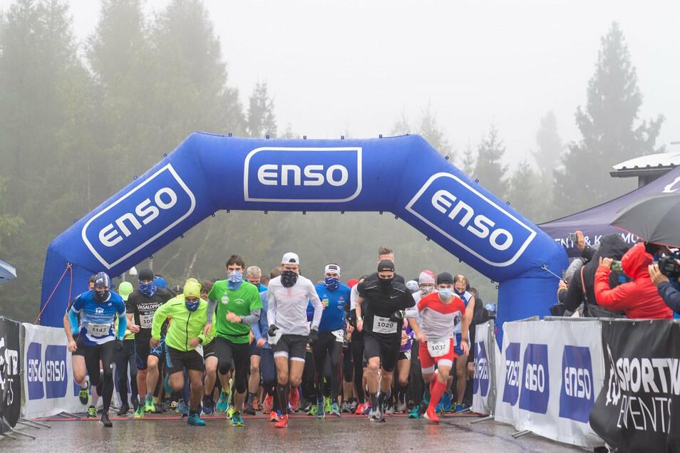 Beim 1. BobRun am Sonnabend in Altenberg gingen mehr als 180 Sportler an den Start.