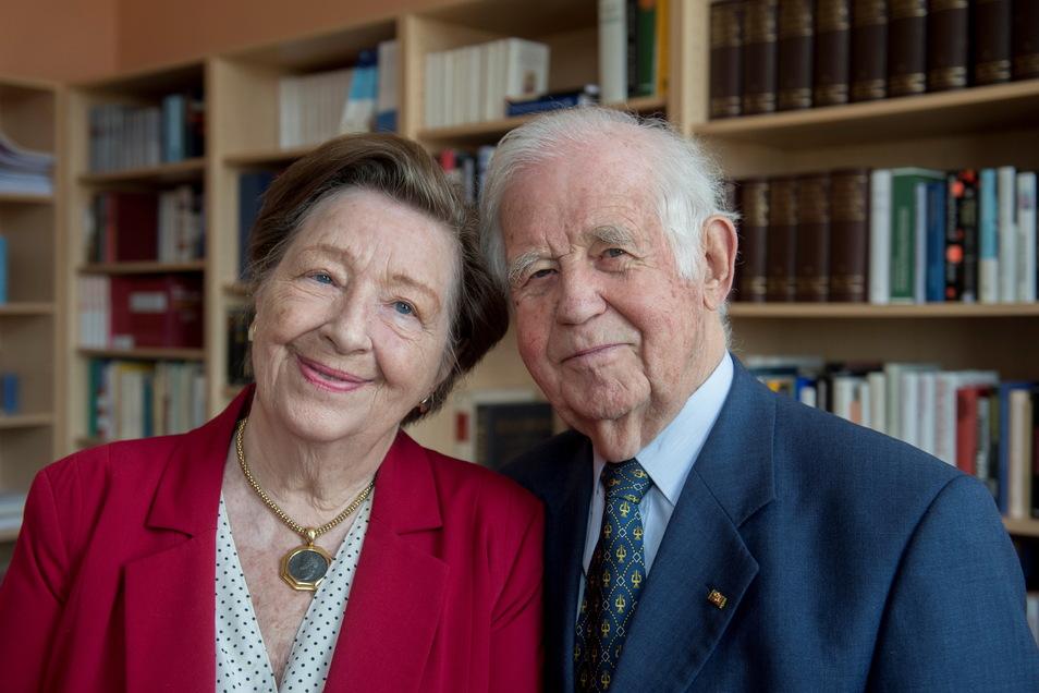2016 mit seiner Ehefrau Ingrid