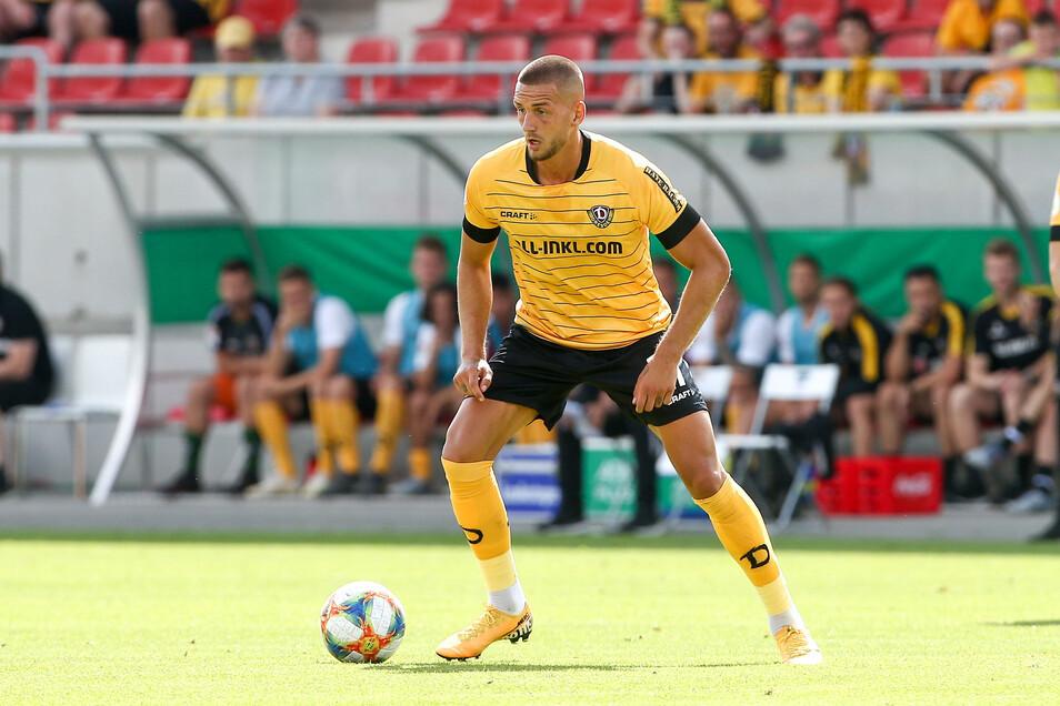 Im Pokalspiel gegen Dassendorf (3:0) stand René Klingenburg in Dynamos Startelf, in der zweiten Liga aber noch nie.