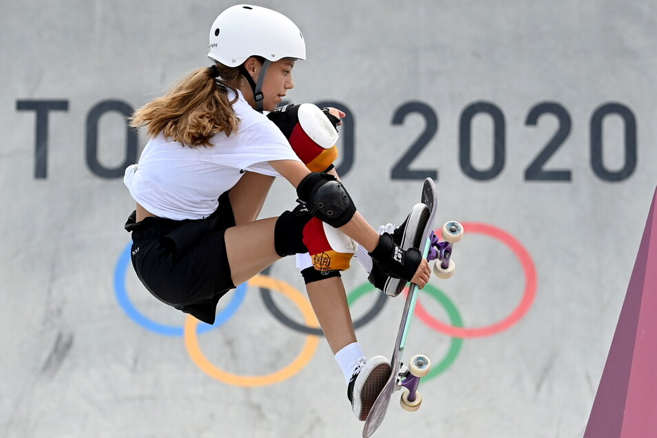 Die Berlinerin Lilly Stoephasius ist mit 14 Jahren die jüngste Teilnehmerin im deutschen Olympia-Team.