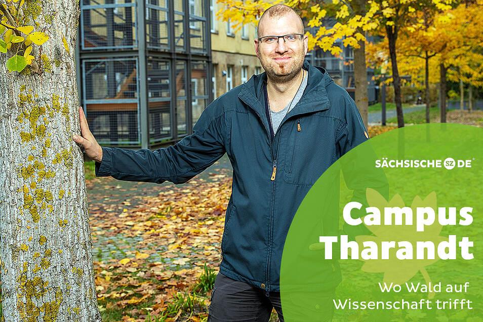 Wissenschaftler Sebastian Dittrich forscht darüber, wie sich Pflanzen mit Migrationshintergrund auf die heimische Flora und Fauna auswirken.