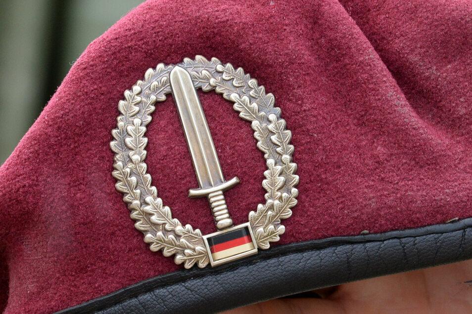 Das Abzeichen des Kommandos Spezialkräfte (KSK).