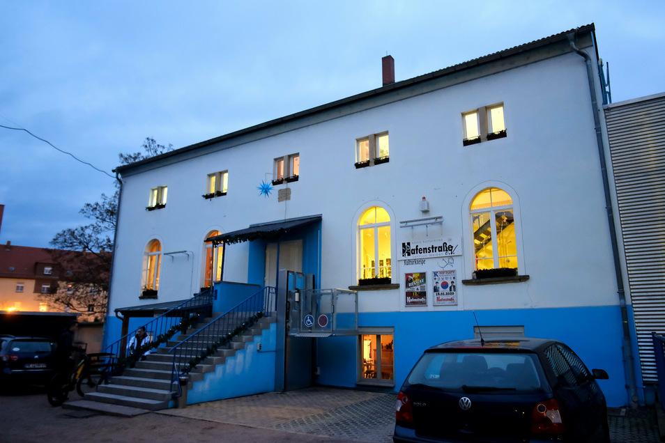 Beliebter Treffpunkt seit Jahrzehnten - das Vereinsgebäude des Hafenstraße e.V..