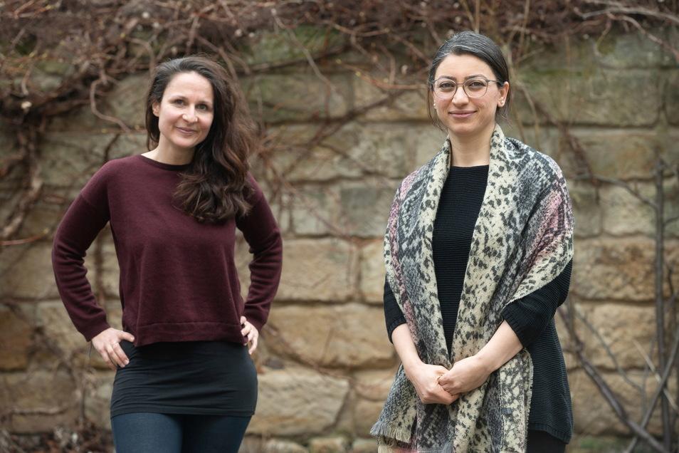 Claudia Nicko (l.) und Zozan Almohammad haben das Vertrauen vieler Frauen gewonnen. Nun würden sie ihr erfolgreiches Angebot gern weiterführen können.