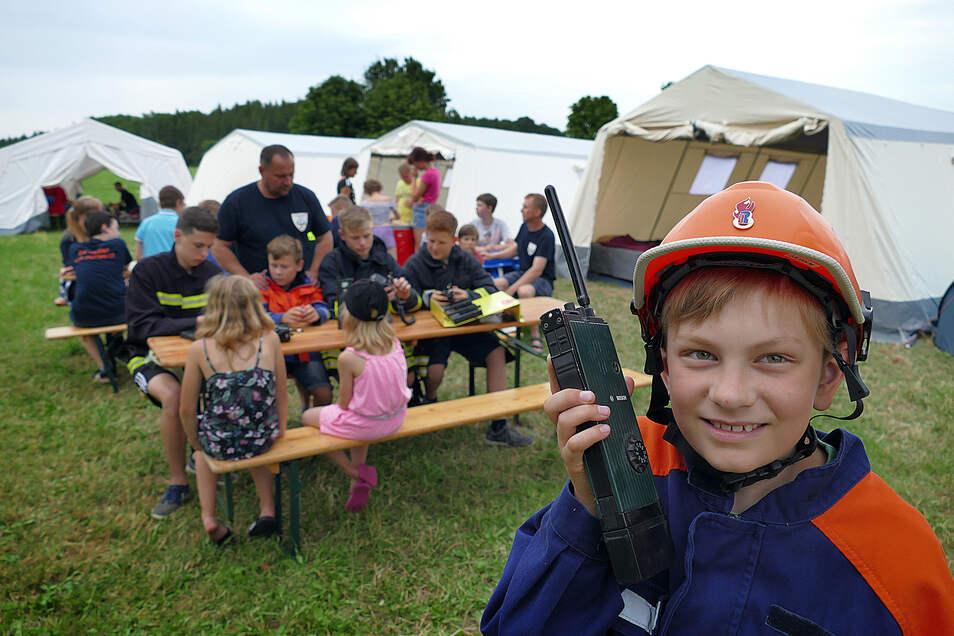 Symbolbild: Junge Helfer aus dem ganzen Altkreis treffen sich zum Zeltlager. In dem geht es aber um viel mehr als Spiel und Spaß.