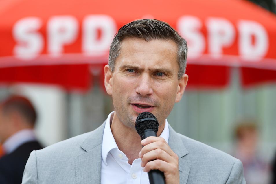Sachsens SPD-Spitzenkandidat Martin Dulig.