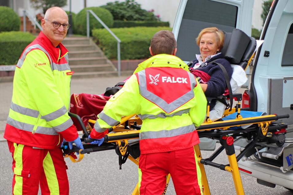Die Falck Rettungsdienst GmbH übernimmt den Rettungsdienst in Görlitz und Niesky.