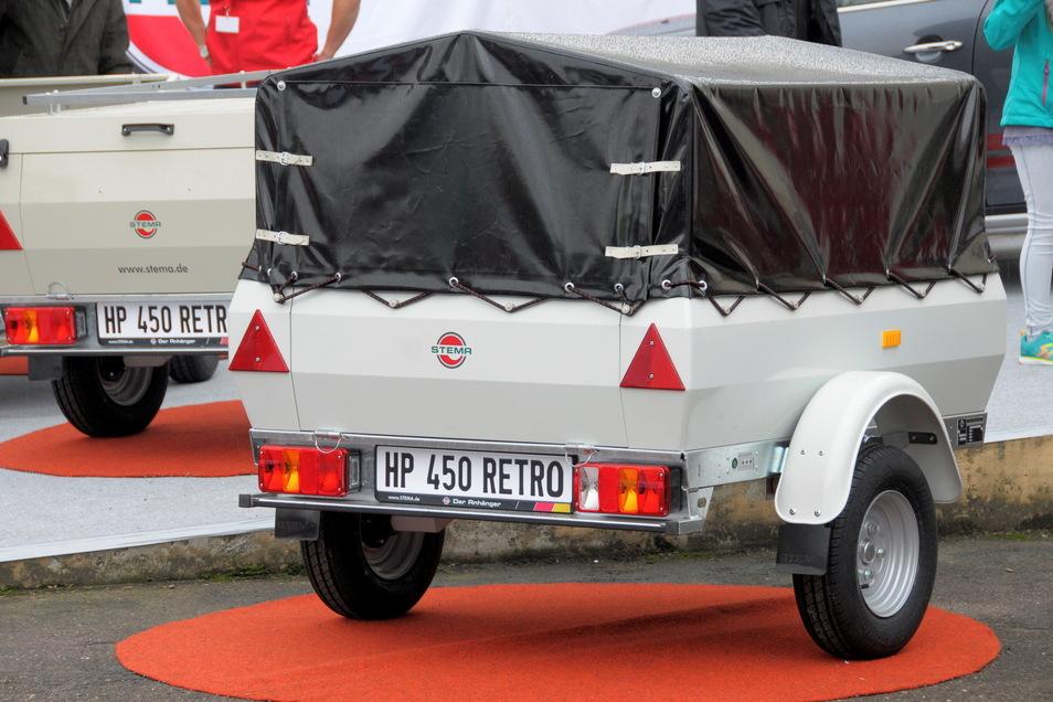 Der berühmte Kultanhänger aus DDR-Zeiten wurde 2016 neu konstruiert und wird nun wieder produziert. Die Nachfrage sei unverändert groß, so Marketingchef Tobias Grafe.