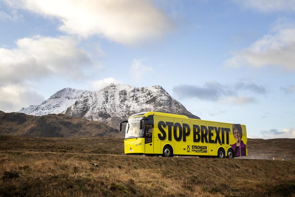 In Schottland hält man wenig vom Brexit. Mit einer entsprechenden Kampagne hat die SNP nicht nur in den Highlands Stimmen geholt. Die Partei gewann 48 der 59 Sitze in Schottland.