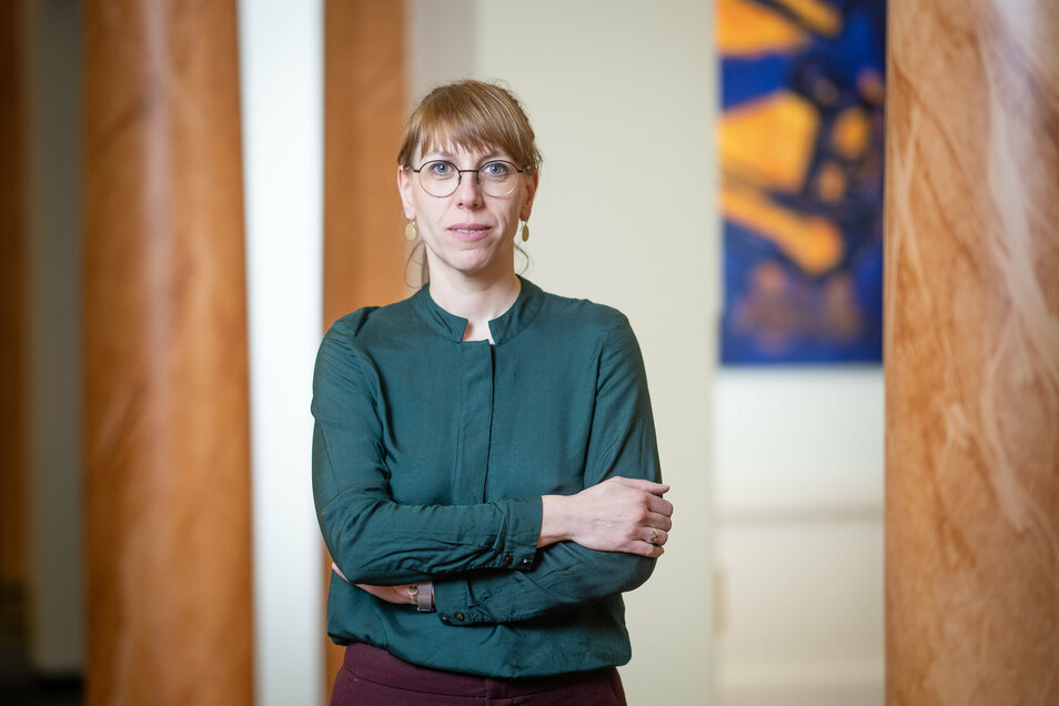 Sachsens Justizministerin Katja Meier (Grüne).