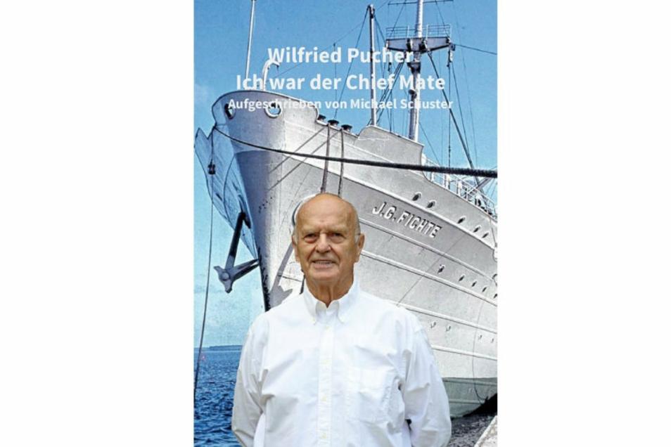 """Das ist das Cover des Buches """"Wilfried Pucher - Ich war der Chief Mate"""", das dieses Jahr erschienen ist."""