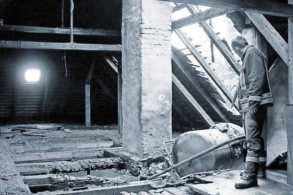 Im Mai 2013 brannte es in einem der Gebäude des ehemaligen Arzneimittelwerkes.