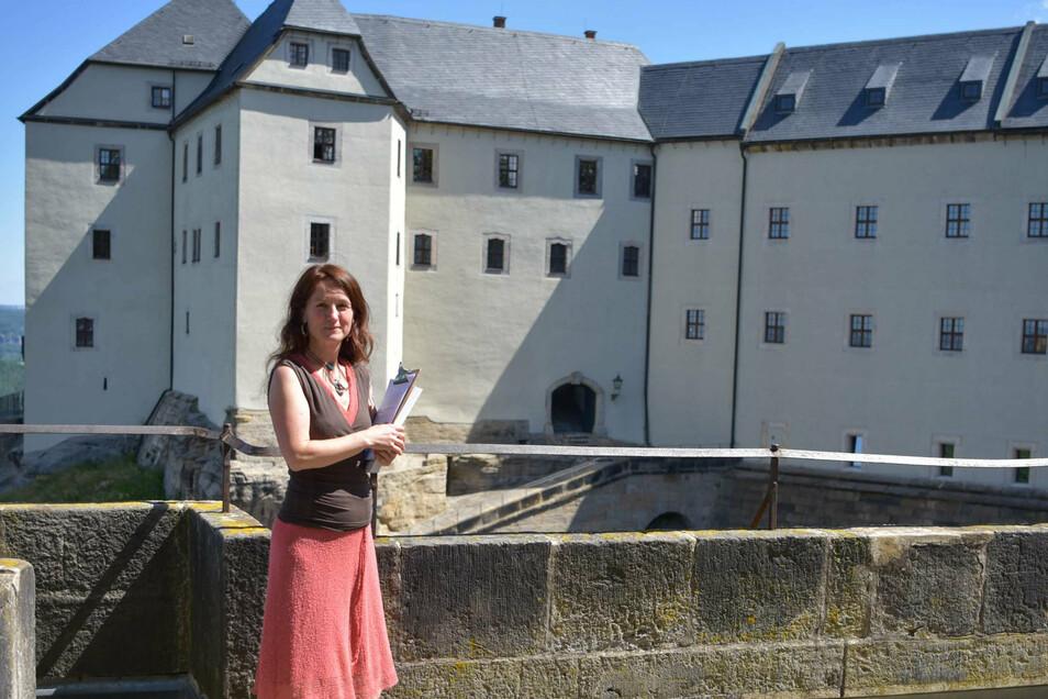 Museumspädagogin Maria Pretzschner hat neue Angebote für Schulklassen entwickelt.