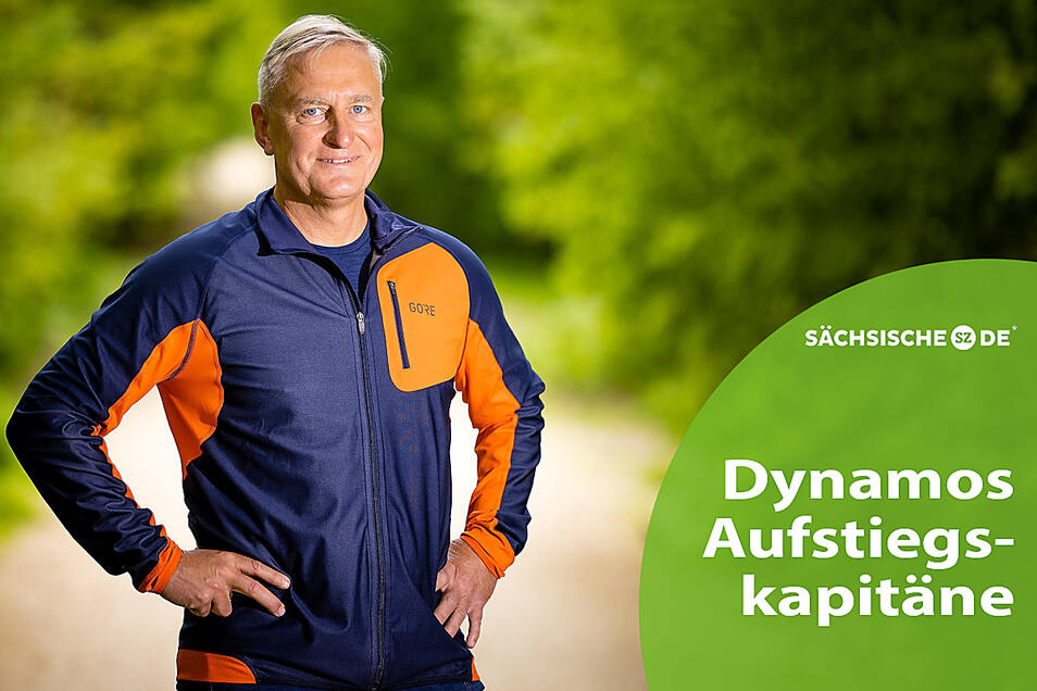 Mit Läufen durch die Dresdner Heide hält sich Steffen Heidrich fit. Mit Fußball hat er kaum noch was zu tun.