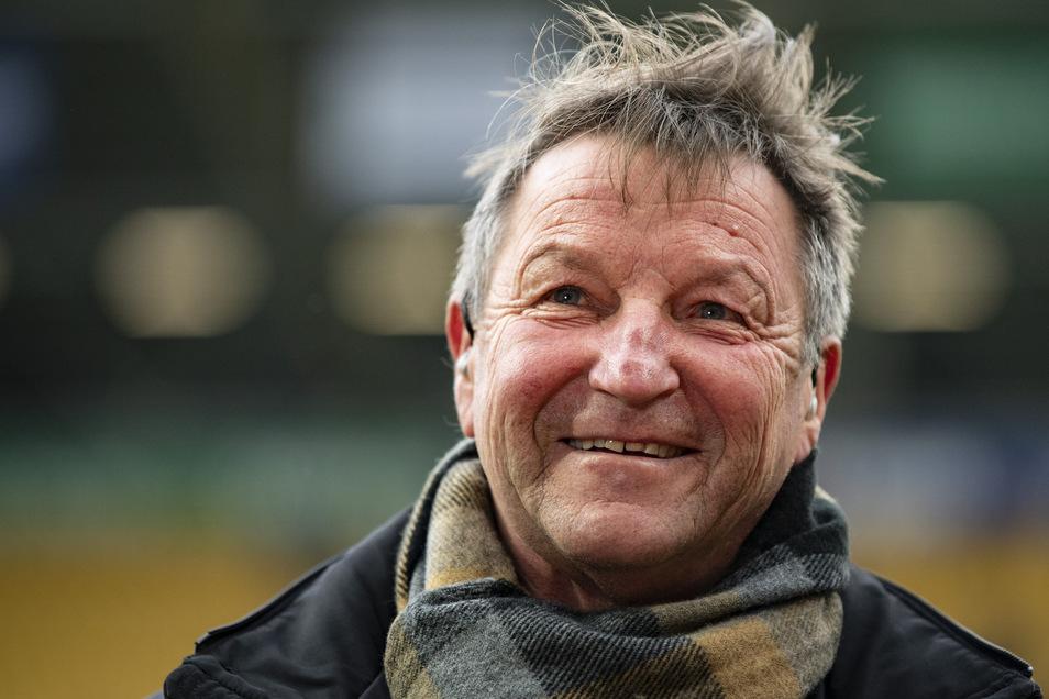 """Will Aufsichtsrat seines Vereins bleiben: Dynamo-Legende Hans-Jürgen """"Dixie"""" Dörner."""