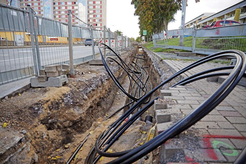 An der Berliner Straße in Riesa wird gebaut - und längst nicht nur dort.