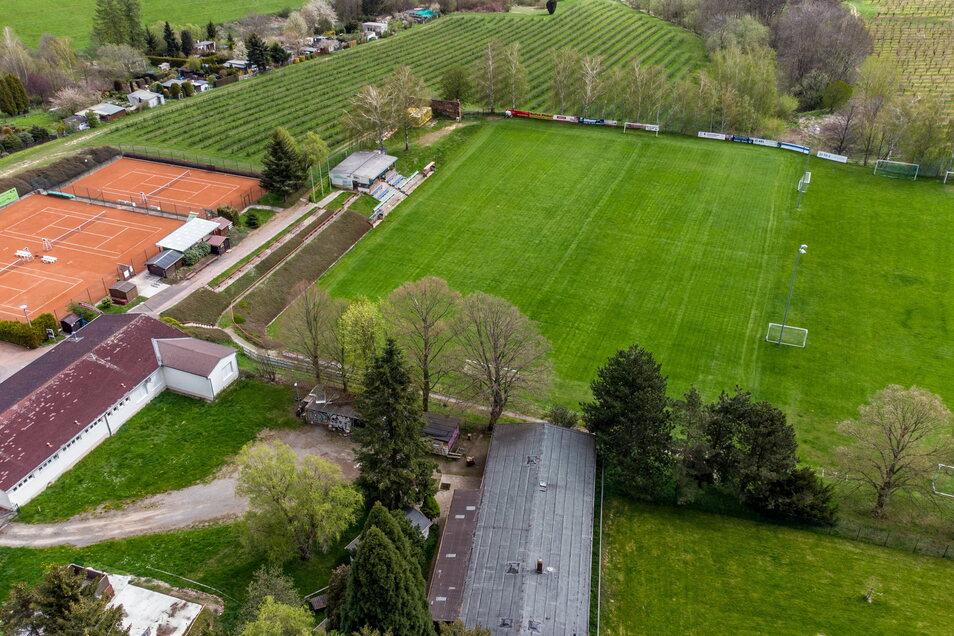Zum Sport- und Freizeitzentrum in Leisnig gehören neben Bad, Jugendzentrum, Sport- und Kegelhalle auch Fußball- und Tennisplätze. Einer der Tennisplätze könnte sogar überdacht werden, sehen erste Planungen vor.