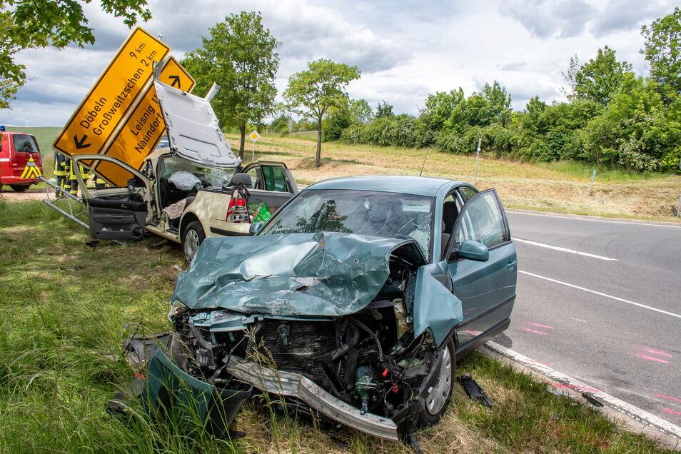Symbolfoto: Durch einen Vorfahrtsfehler hat es Ende Mai vergangenen Jahres auf der S 34 am Abzweig Zaschwitz gekracht. Der Unfall war einer von 1.300, die sich 2020 in der Region Döbeln ereignet haben.