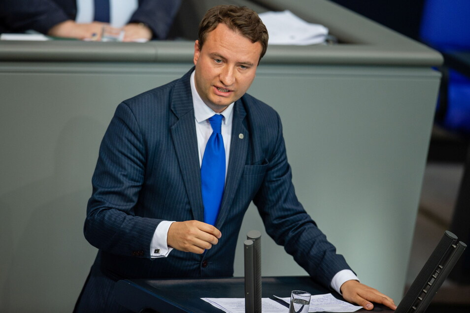 Der CDU-Politiker Mark Hauptmann legte sein Bundestagsmandat nieder.