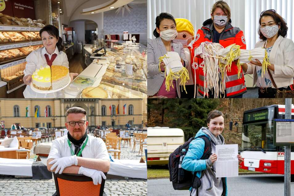 Ob Café-Eröffnung, Masken-Spende, Stuhl-Protest oder Bus-Ärger: Vier der Geschichten, die diesen Freitag online erschienen sind.
