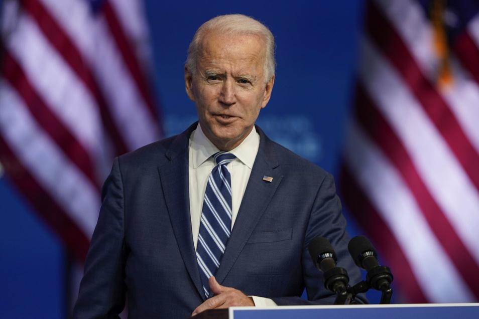 Joe Biden wird am 20. Januar 2021 als US-Präsident vereidigt.