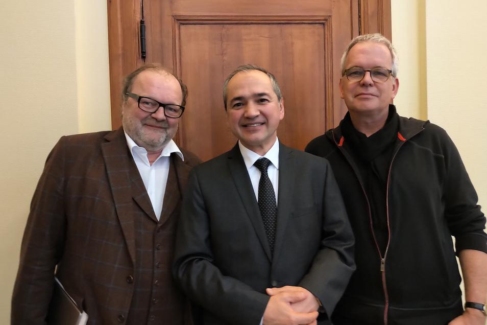 Eines der großen Vorhaben für Görlitz, die Oberbürgermeister Octavian Ursu angehen möchte, wurde 2020 auf den Weg gebracht: Die Filmakademie mit den Filmproduzenten Stefan Arndt (X-Filme) und Peter Hartwig (Kineo).