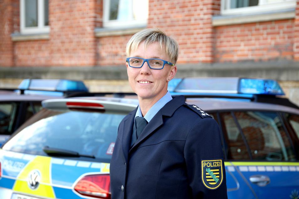 Jana Ulbricht ist die Sprecherin der Polizeidirektion Chemnitz.