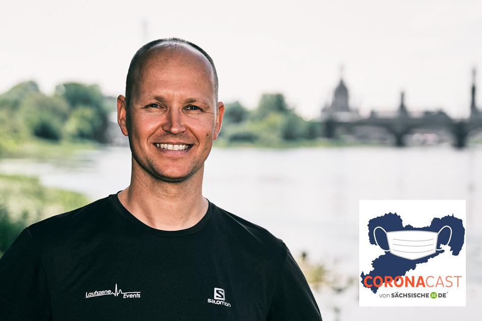 André Egger ist Geschäftsführer der Laufszene Events GmbH. Im CoronaCast spricht er über die Lage seiner Branche.