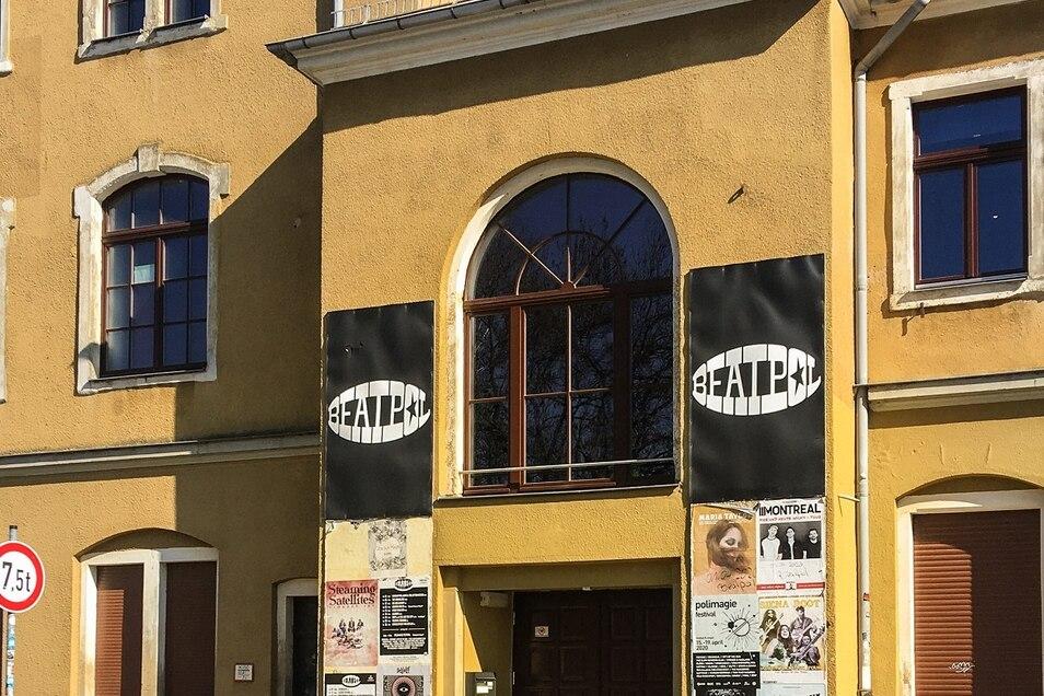 Bekannter Dresdner Club - zurzeit kommt hier keiner rein.