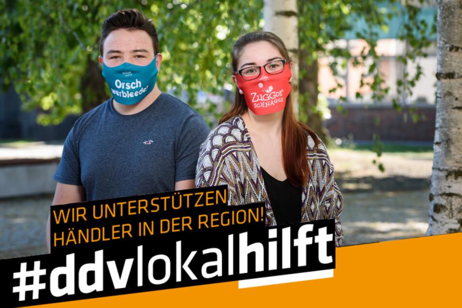 """Bunt und individuell für alle: Günstige und praktische Gesichtsmasken von """"original Sächsisch"""""""