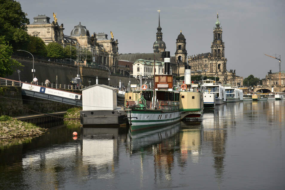 Wer die Dresdner Schiffe übernehmen will, sollte bis Montag sein Angebot abgegeben haben.