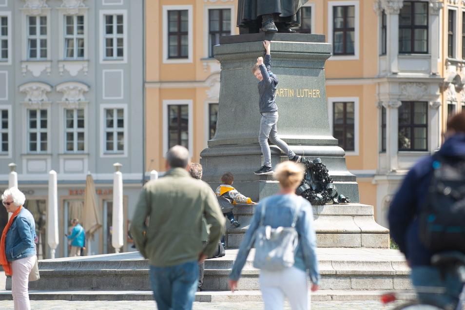 Vor allem deutsche Urlauber zog es in den Sommermonaten nach Dresden.