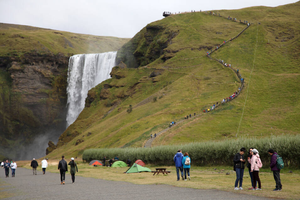 Touristen sollten wegen der hohen Corona-Zahlen derzeit auch nicht nach Island reisen.