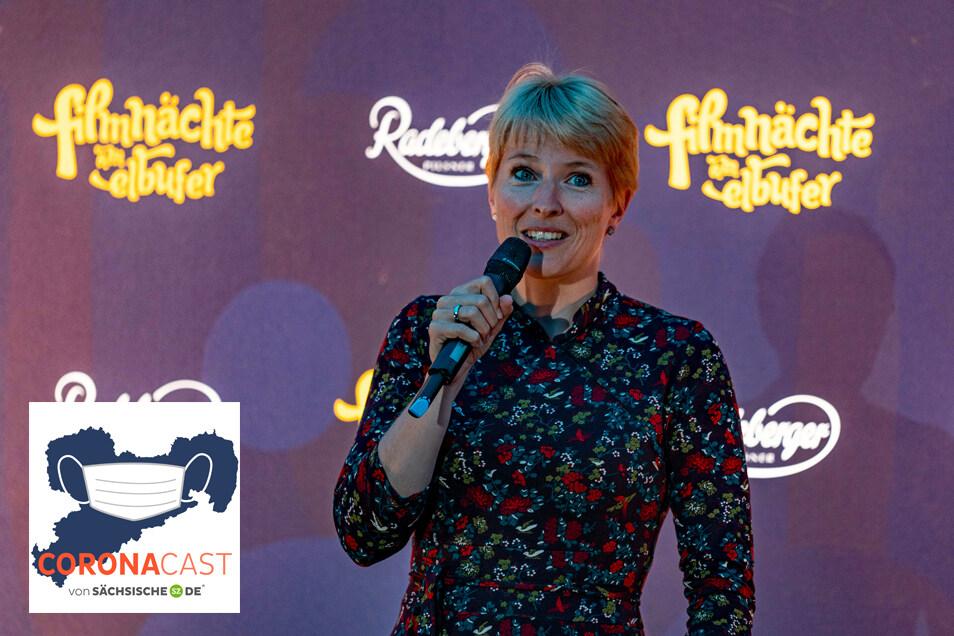 Seit 2011 ist Viktoria Franke Pressesprecherin bei den Filmnächten. Im CoronaCast erzählt sie, was dieses Jahr anders ist als sonst.