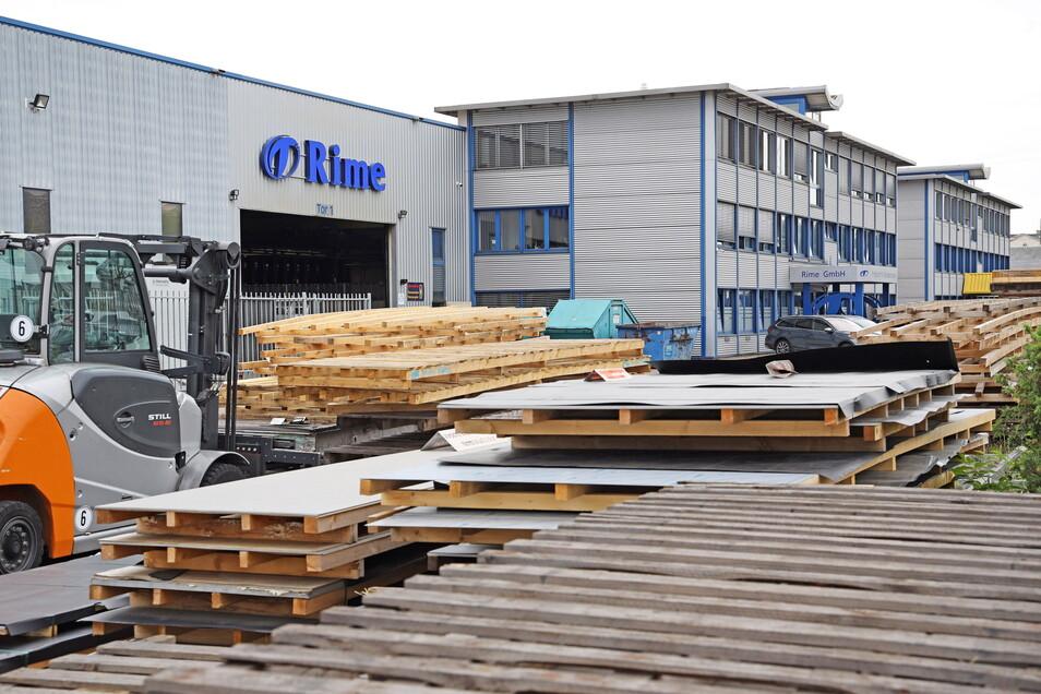 120 Mitarbeiter beschäftigt Rime derzeit. Der Platz auf dem Firmenareal am Stahlwerk wird nach mehreren Erweiterungen mittlerweile knapp.