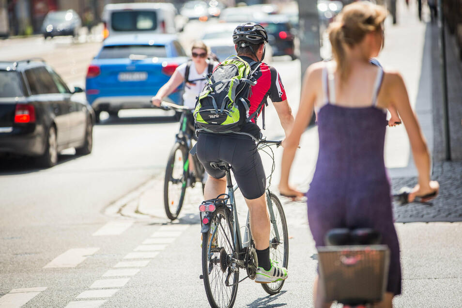 Radfahrer sind aufgerufen, die Fahrradfreundlichkeit von Meißen zu bewerten.