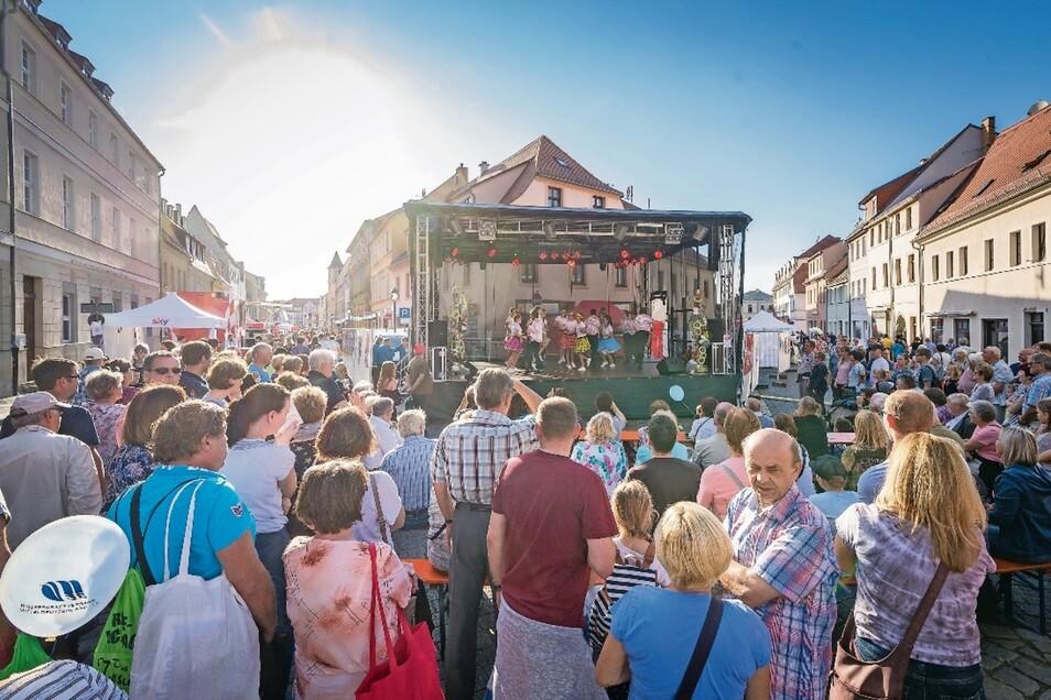 Der letzte Tag der Sachsen fand im September in Torgau statt. In drei Jahren soll das Fest in Freital gefeiert werden.