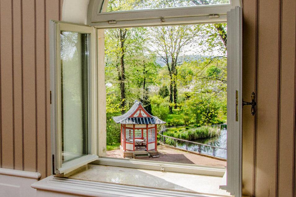 Nach der Corona-Zwangspause gibt es wieder Veranstaltungen in der Villa Teresa und dem Park mit dem Tee-Haus.