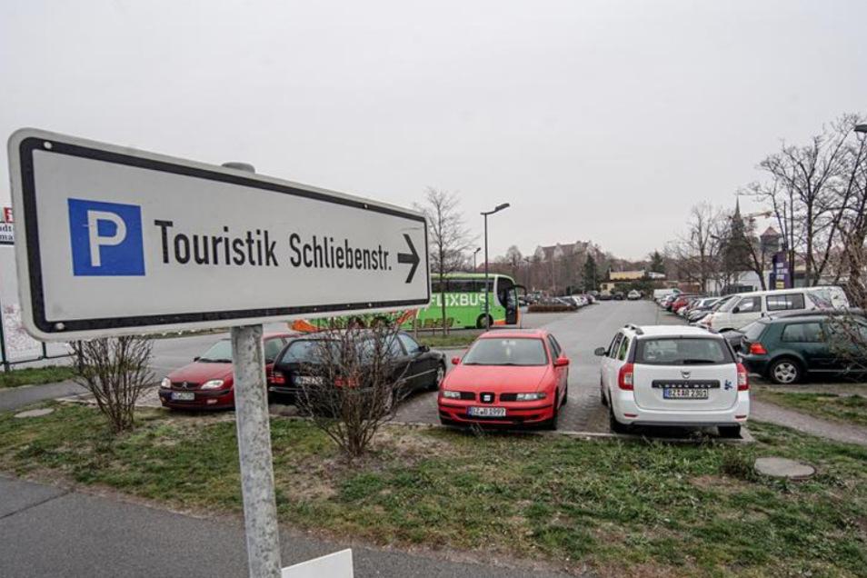 Auch auf dem Touristikparkplatz an der Schliebenstraße soll freies WLAN kommen.