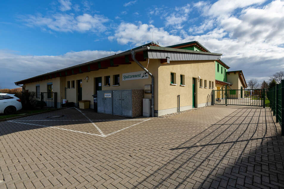 Die Kita Spatzennest in Braunsdorf bekommt einen neuen, größeren Parkplatz.