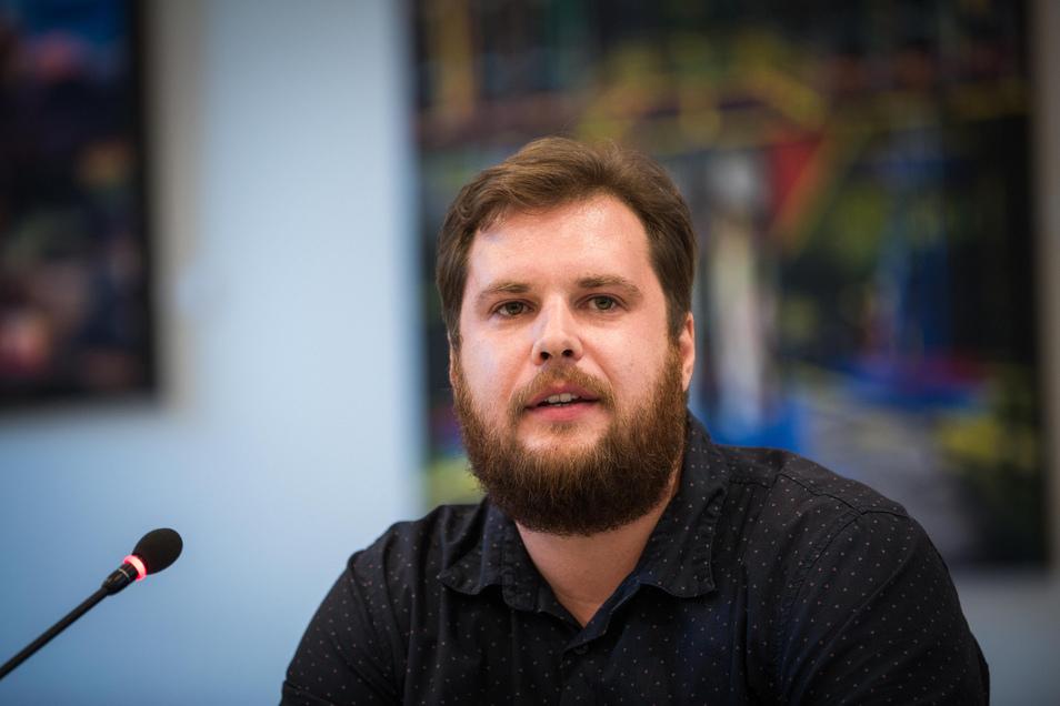 Vincent Drews, wohnungspolitischer Sprecher und SPD-Stadtrat für die Neustadt