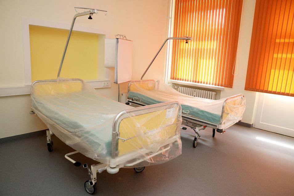 Ganz neu: der Aufwachraum für Patienten, die eine ambulante OP hinter sich haben.