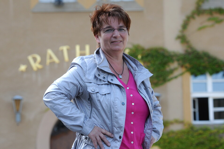 Karin Berndt, Bürgermeisterin von Seifhennersdorf, bekam damals Ärger mit der Kultusbürokratie.