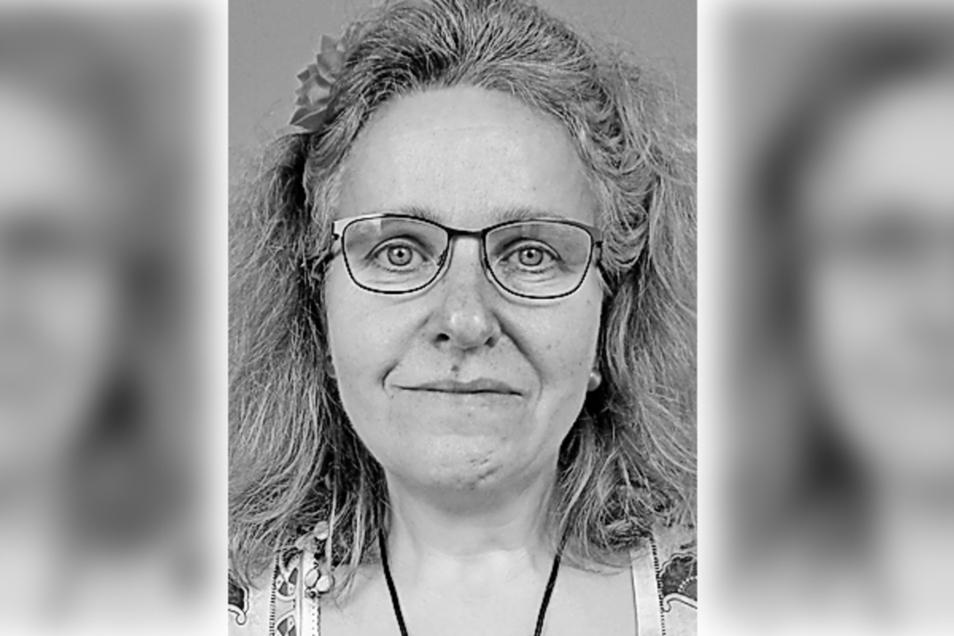 """Carina Frank  lernte von 1980 bis 1983 in der heutigen Dresdner Kita """"Pieschener Kinderinsel"""" Krippenerzieherin."""