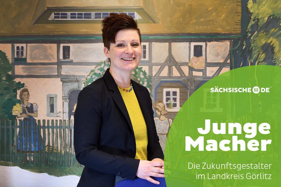 Seit einem Jahr ist Kati Wenzel Bürgermeisterin des Gebirgsortes Jonsdorf.